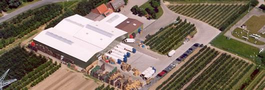 Luftaufnahme von Faby Fruchtgroßhandel