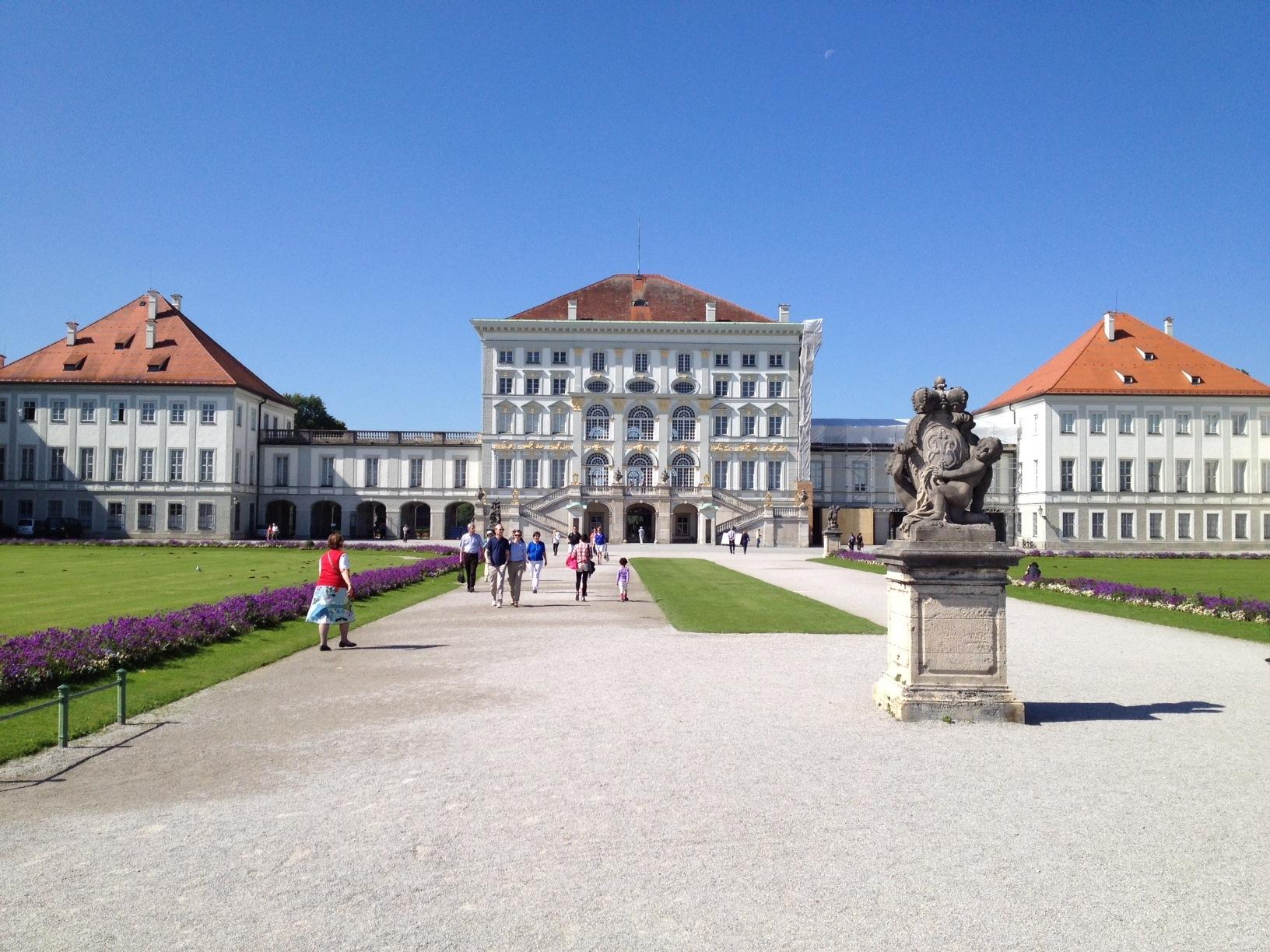 Sehenswertes - Schloß Nymphenburg
