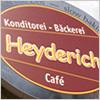 Konditorei Bäckerei Heyderich, Stade, Bäckerei und Konditorei