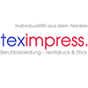 teximpress. Die Profis für Berufskleidung, Textilveredelung, Textildruck & Stick