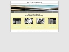 Dr. Christa Kraemer