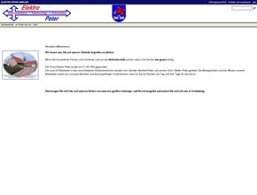 Elektro Peter GmbH, Steffen Peter