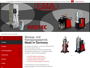 EVO-PRODUCTS Blankenburg GmbH | Hochleistungs-Industriesauger
