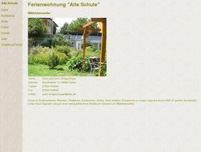 """Ferienwohnung """"Alte Schule"""""""