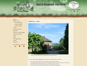 Ferienwohnung VillaFens - Bed &amp; Breakfast