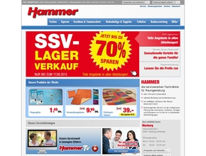hammer heimtextilien. Black Bedroom Furniture Sets. Home Design Ideas