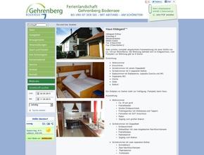 """Haus """"Hildegard""""  Inh. Böhler"""