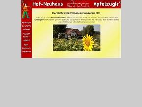 Hof-Neuhaus  - Apfelzügle