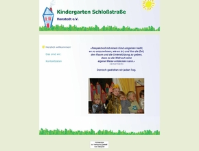 Kindergarten Schlo&szlig;stra&szlig;e Hanstedt e.V.