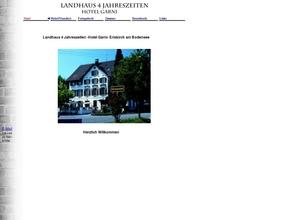 """Landhaus """"Vier Jahreszeiten"""""""