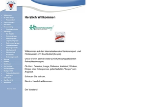 Seniorensport- und Förderverein e.V. Bruchköbel