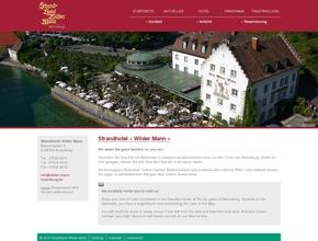 Strand-Hotel Wilder Mann