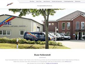 Buse GmbH Heizung - L�ftung - Sanit�r - Solar - Energieberatung bei Hamburg