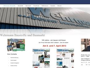 Wehrmann Baustoffe GmbH - Baumarkt in Winsen Luhe mit gro�er Ausstellung